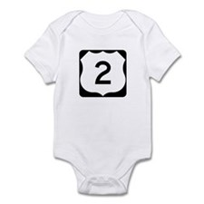 US Route 2 Infant Bodysuit