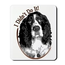 """I didn't do it!"" Mousepad"