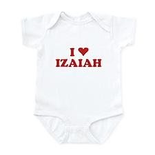 I LOVE IZAIAH Infant Bodysuit