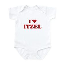 I LOVE ITZEL Onesie