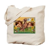 Angels &amp; Weimaraner Tote Bag