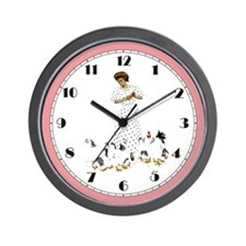 FARMER'S DAUGHTER Wall Clock
