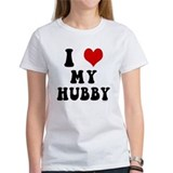 I Love (Heart) My Hubby Tee