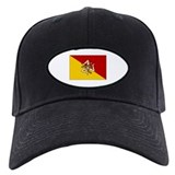 Sicily - Sicilian Flag Baseball Hat