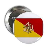 Sicily - Sicilian Flag Button