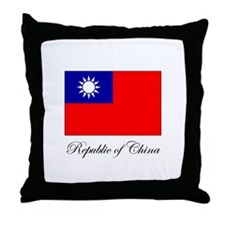 Republic of China - Flag Throw Pillow