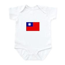 Republic of China Flag Infant Bodysuit