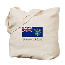 Pitcairn Islands - Flag Tote Bag