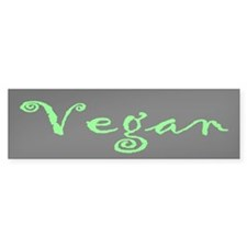Vegan Bumper Bumper Sticker