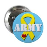 Army Yellow Ribbon Button