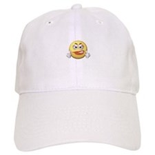 Smiley Giving the Finger Baseball Cap