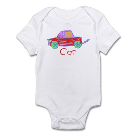 Kid Art Car Infant Bodysuit