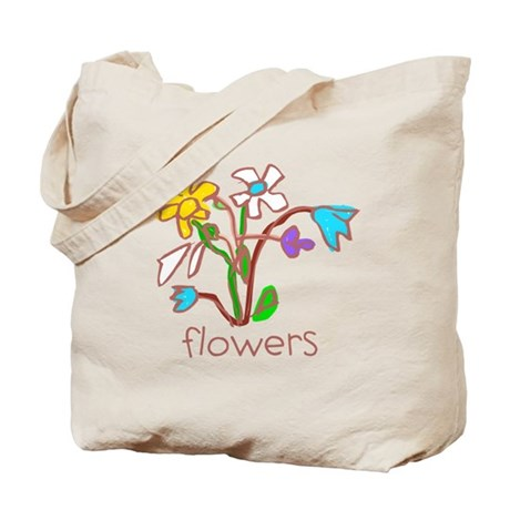 Kid Art Bouquet Tote Bag
