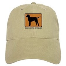 Curly Coated Retriever (simpl Baseball Cap