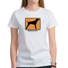 Mountain Cur (simple-orange) Tee