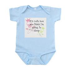 Sleeping Baby Girl? Infant Bodysuit