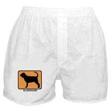 Bloodhound (simple-orange) Boxer Shorts