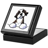 Pocket St. Bernard II Keepsake Box
