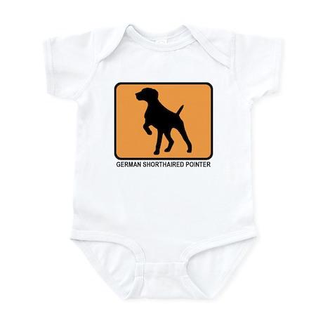 German Shorthaired Pointer (s Infant Bodysuit