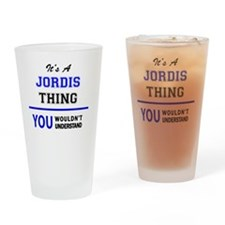 Cool Jordy Drinking Glass