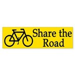 Share the Road (bumper sticker)
