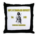 Dept. of Homeland Security Throw Pillow