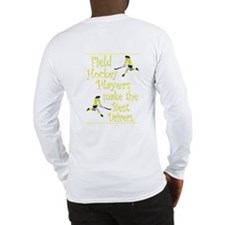 Field Hockey - Yellow -  Long Sleeve T-Shirt