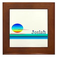 Josiah Framed Tile