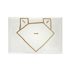 Brown Anime Frog Rectangle Magnet (100 pack)