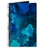 Brilliant Blues Fractal Journal