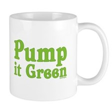 Pump it Green Mug