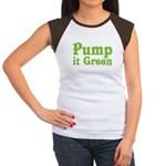 Pump it Green Women's Cap Sleeve T-Shirt