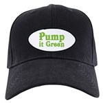 Pump it Green Black Cap