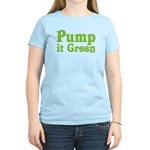Pump it Green Women's Light T-Shirt