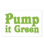 Pump it Green Postcards (Package of 8)