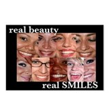Postcards (Package of 8)- Real Smiles