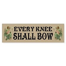 Victorian Angels Kneeling Bumper Bumper Sticker