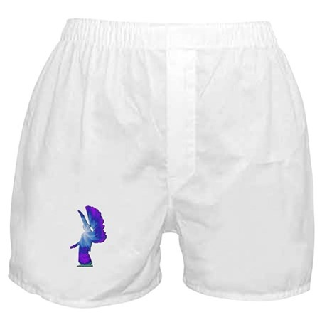 Blue Rainbow Angel Boxer Shorts