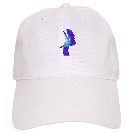 Blue Rainbow Angel Cap