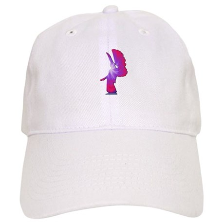 Pink Rainbow Angel Cap