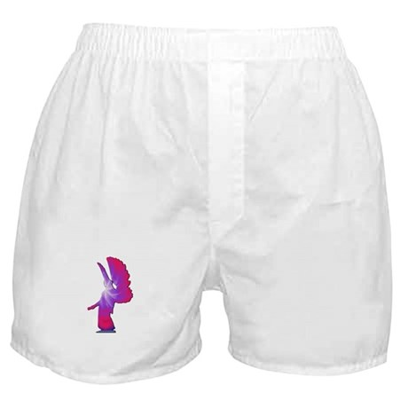 Pink Rainbow Angel Boxer Shorts