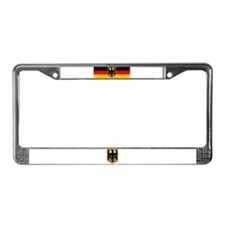 Unique German License Plate Frame
