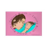 Gentle Birth Rectangle Magnet