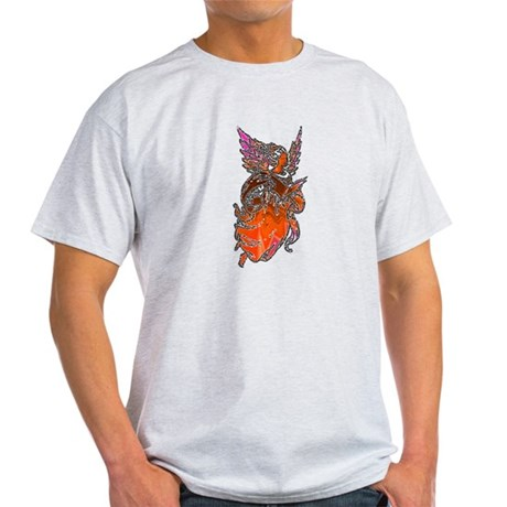Pretty Orange Angel Light T-Shirt