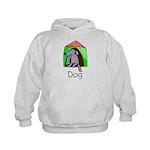 Kid Art Dog Kids Hoodie