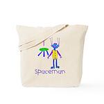 Kid Art Spaceman Tote Bag