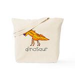 Kid Art Dinosaur Tote Bag
