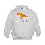 Kid Art Dinosaur Kids Hoodie