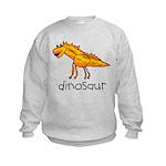 Kid Art Dinosaur Kids Sweatshirt