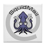 SquidMail Tile Coaster